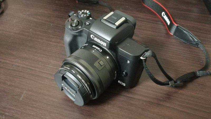 EF-M15-45mm+EOS Kiss M