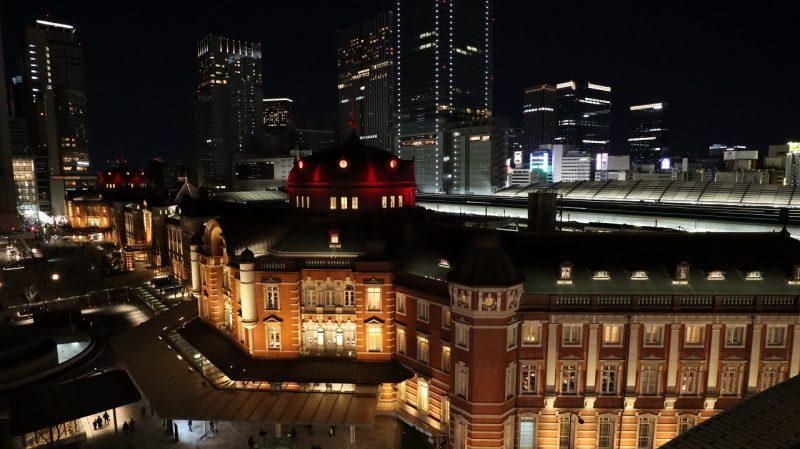 東京駅夜景