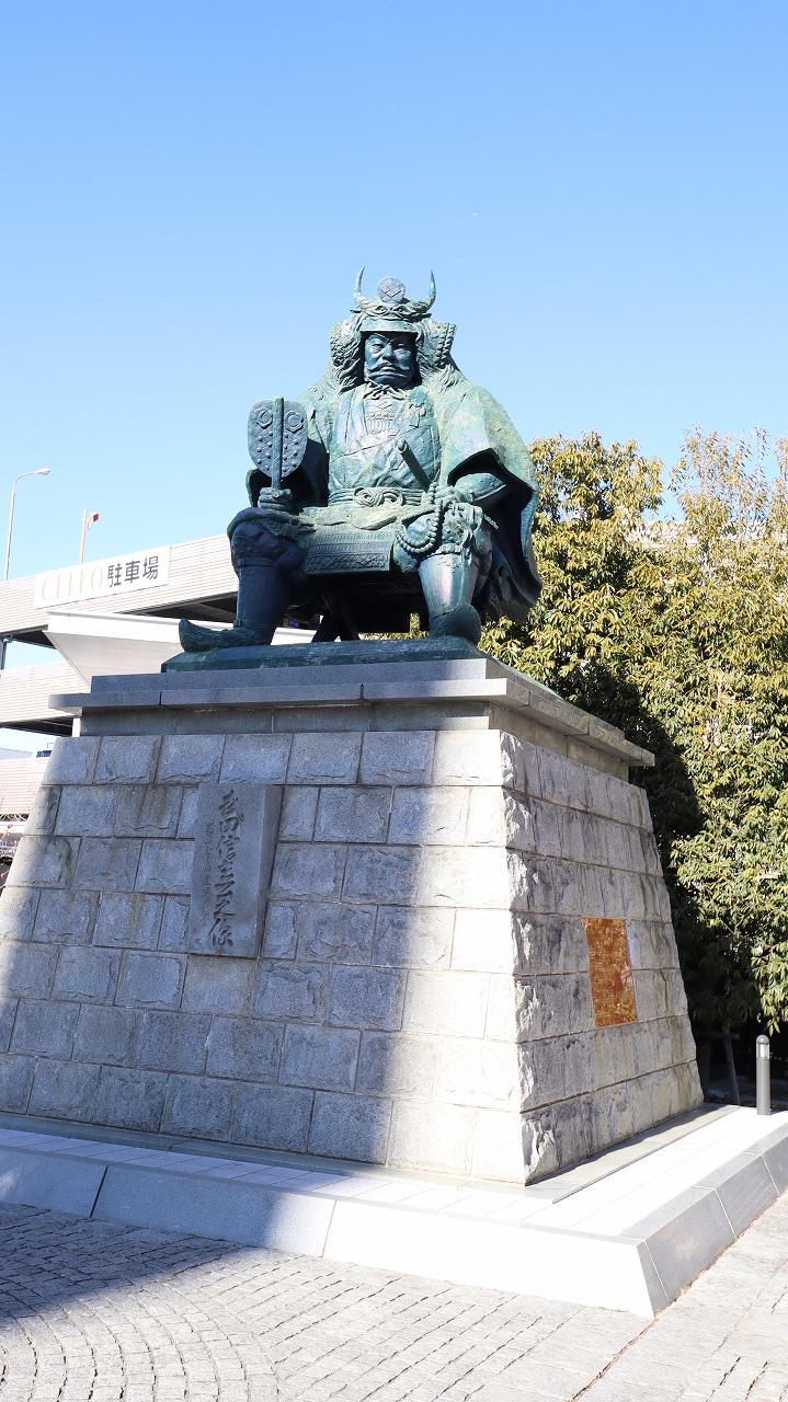 武田信玄銅像