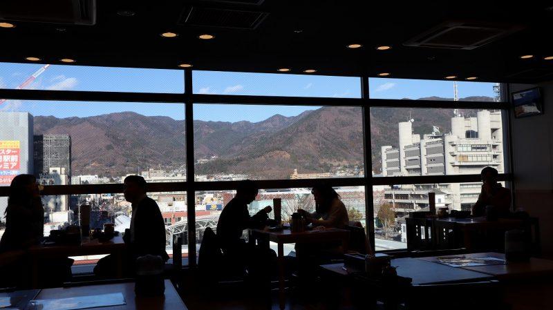麺'ズ冨士山からの風景